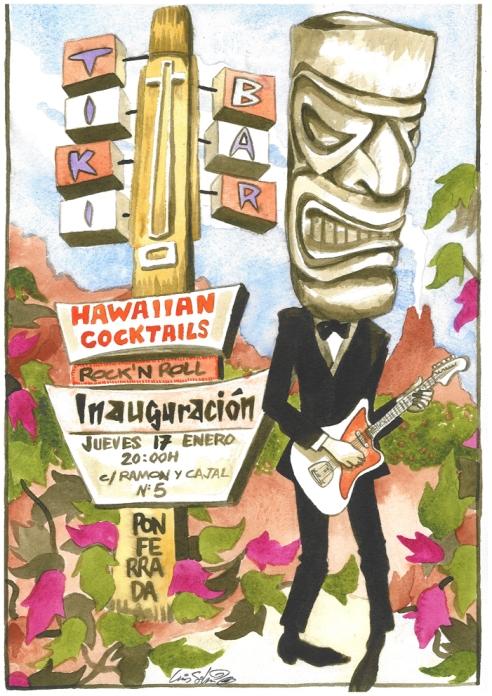 Tiki Bar inauguracion