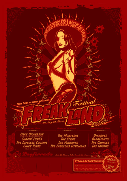 Cartel Freakland Festival 2008